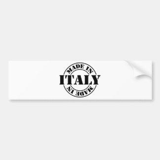 made in Italy Bumper Sticker