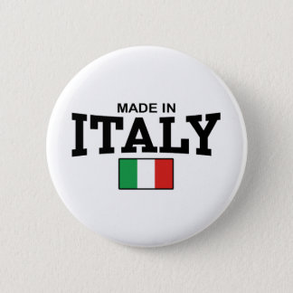 Made in Italy Button