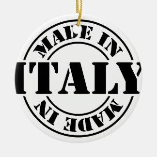 made in Italy Ceramic Ornament