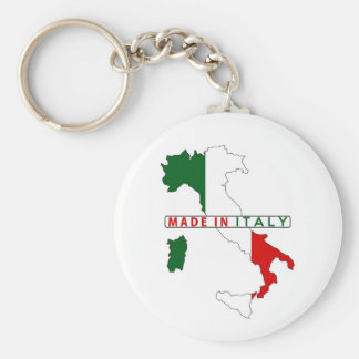 made in italy country map shape flag product label key chains