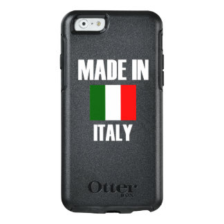 Made In Italy Flag OtterBox iPhone 6/6s Case