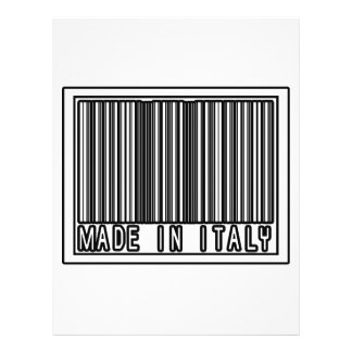 Made In Italy Flyer Design