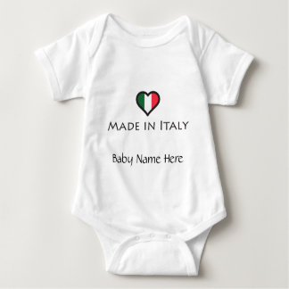 Made in Italy - Italian Pride Baby Bodysuit