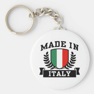 Made in Italy Keychains