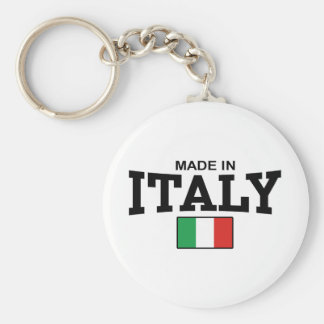 Made in Italy Keychain