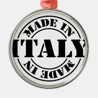 made in Italy Metal Ornament