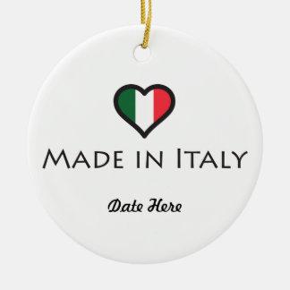 Made In Italy Personalized Design Ceramic Ornament