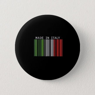 Made In Italy Pinback Button