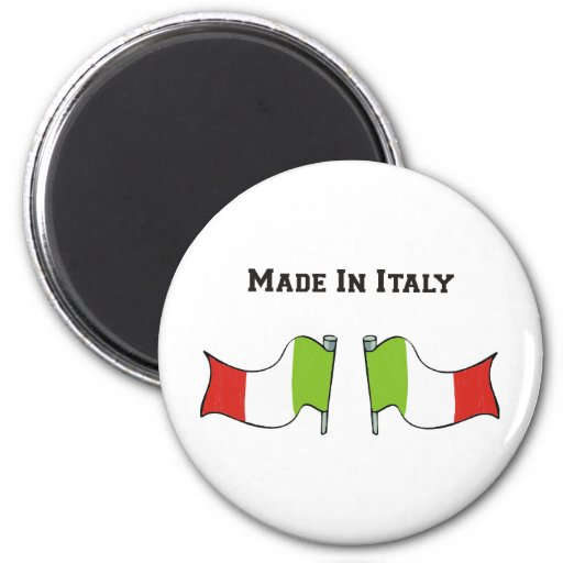 Made In Italy Refrigerator Magnets