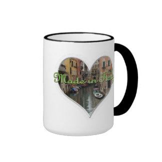 MADE In ITALY Ringer Mug