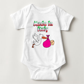 Made In Italy Stork Pink Tee Shirt