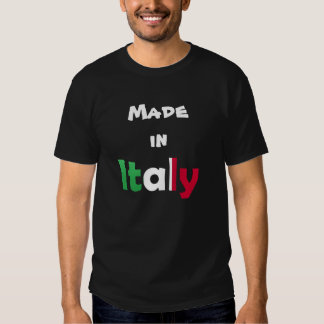 Made In Italy T Shirt