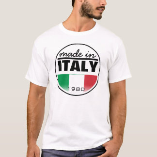 "Made in ...""Italy"" T-Shirt"