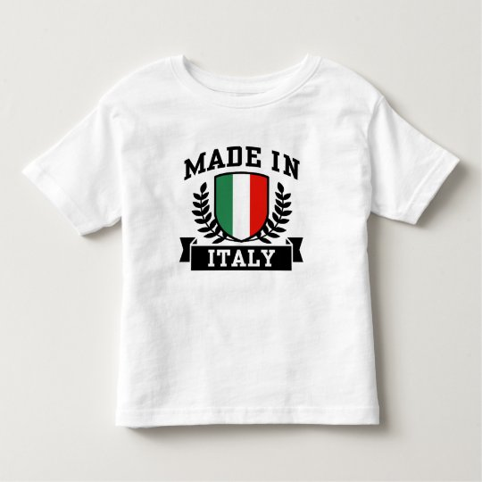 Made in Italy Toddler T-shirt