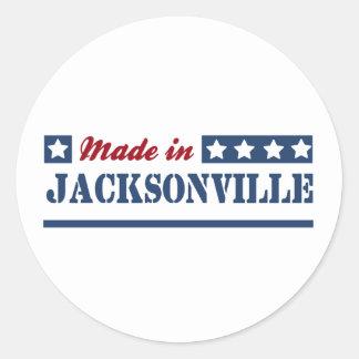 Made in Jacksonville FL Classic Round Sticker