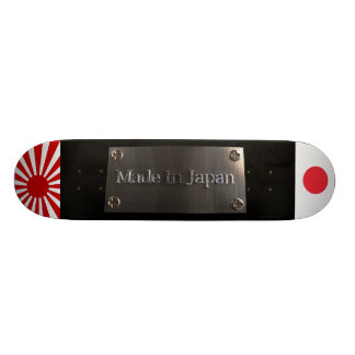 Made in Japan black  model Skateboard