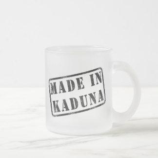 Made in Kaduna 10 Oz Frosted Glass Coffee Mug
