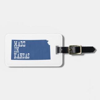 Made In Kansas Bag Tag