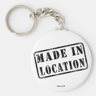 Made In... Key Chain