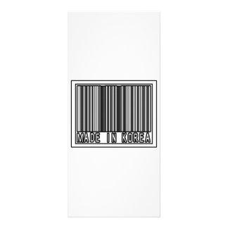 Made In Korea Customized Rack Card
