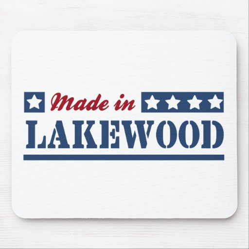 Made in Lakewood WA Mouse Pad