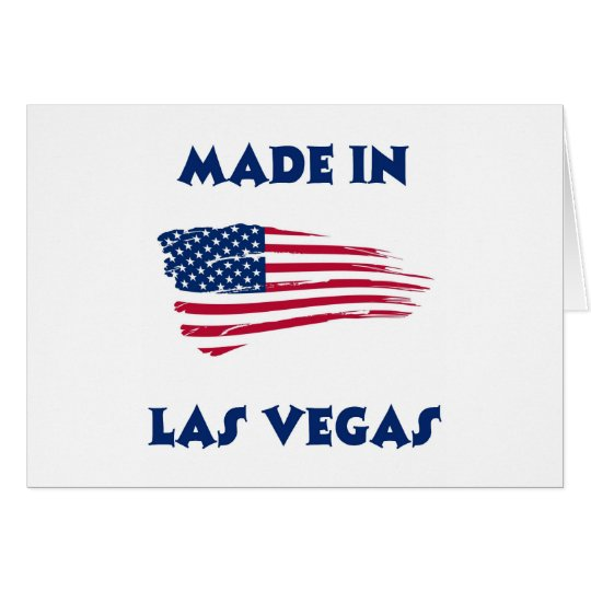 MADE IN LAS VEGAS CARD