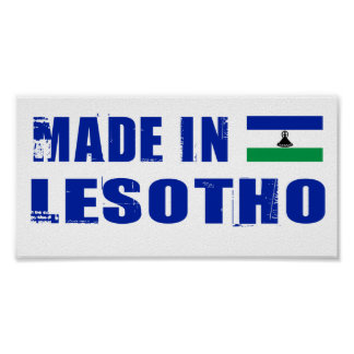 Made in Lesotho Poster