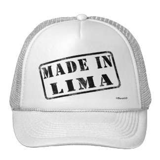 Made in Lima Mesh Hat