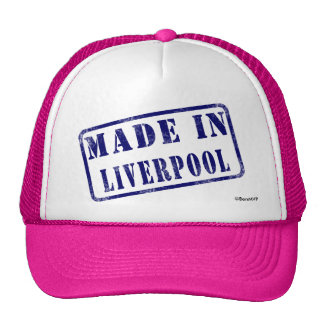 Made in Liverpool Trucker Hats