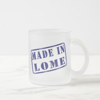 Made in Lome Frosted Glass Coffee Mug