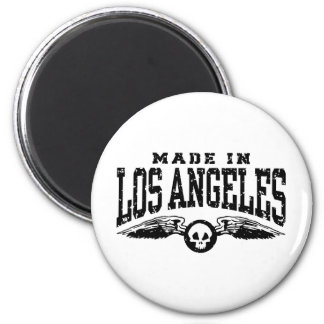 Made In Los Angeles 2 Inch Round Magnet