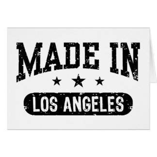 Made in Los Angeles Card