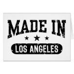 Made in Los Angeles Greeting Cards