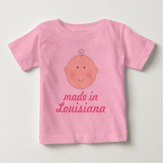 Made In Louisiana Baby or Toddler Tee Shirt