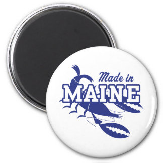 Made In Maine 2 Inch Round Magnet
