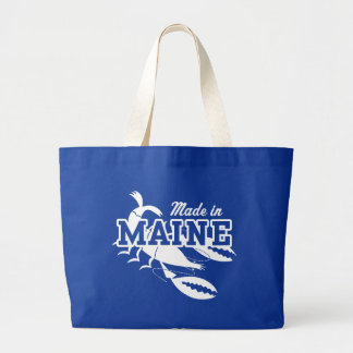 Made In Maine Large Tote Bag