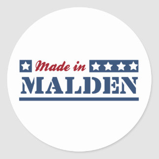 Made in Malden Stickers