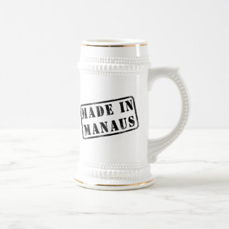 Made in Manaus Beer Stein