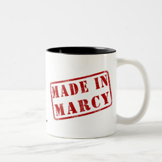 Made in Marcy Two-Tone Coffee Mug