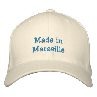 Made in Marseille Embroidered Hats