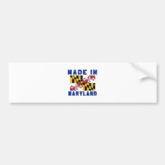 Made in Maryland Bumper Sticker