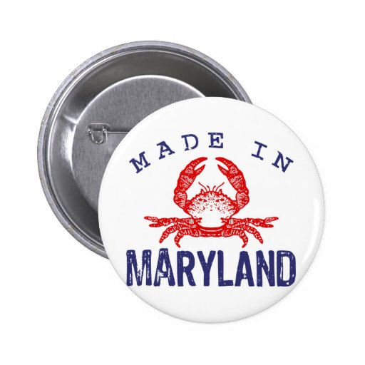 Made In Maryland Pins