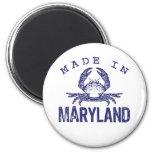 Made In Maryland Refrigerator Magnet