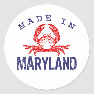 Made In Maryland Stickers