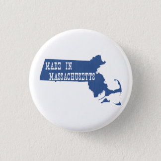 Made In Massachusetts Button