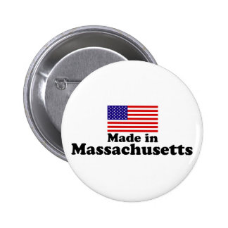 Made in Massachusetts Button