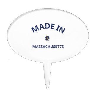 Made in MASSACHUSETTS Cake Topper