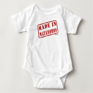 Made in Matamoros Baby Bodysuit