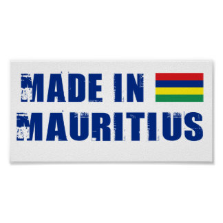Made in Mauritius Poster