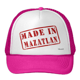 Made in Mazatlan Trucker Hat